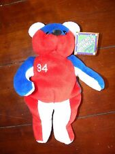 Chicago Cubs Kerry Wood #34 Opening Day Salvino's Bammers Bear NWT