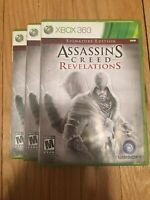 ASSASSIN'S CREED REVELATIONS SIGNATURE EDITION - XBOX 360 - W/MANUAL - (T)