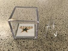 Dallas Stars Stanley Cup Champions NHL Hockey Ring Custom Display Case w/Stand