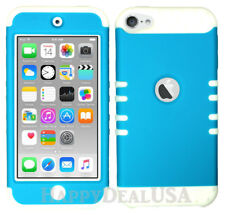 For Apple iPod Touch iTouch 5 6 - KoolKase Hybrid Silicone Cover Case - BLUE FL