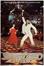 0587 Vintage Music Poster Art - Saturday Night Fever