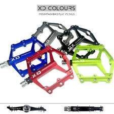 SMS XD Aluminum MTB BMX Bike Bearing Pedals flat Bicycle Flat-Platform Pedal