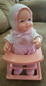 Galoob 1988 LGTI Baby Doll With Walker Vintage Toy. She works! Very nice!