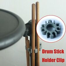 4 Pairs Silicone E Drum Stick Holder Clip For Roland V TD Yamaha & Accessories