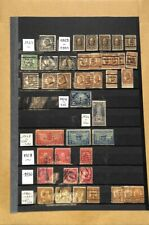 [OP3939] USA lot of stamps on 12 pages