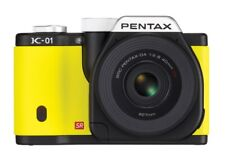 Pentax K-01 Digital Camera Kit With 40mm Lens (Yellow) - NEW IN BOX