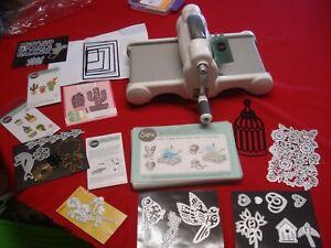 Sizzix Big Shot Die Cutting Machine With Die Bundle / Lots Of Extras!!
