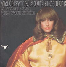 "7"" 45 TOURS FRANCE ANDREA TRUE CONNECTION ""What's Your Name +1"" 1977 DISCO/FUNK"