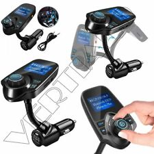 Wireless Bluetooth FM Transmitter Radio Car Kit MP3 Music Player & USB Charger