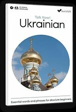 Eurotalk Talk Now Ukrainian for Beginners - Download option and CD ROM