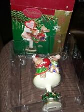 Carlton Cards 2004 Ornament Heirloom Collection Sweethearts mice sundae cherry