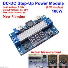 CE 100W DC-DC Boost Step up Adjustable Converter 3-35V to 3.5-35V 5V 12V 24V 9A