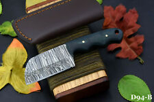 Custom Damascus Steel Skinning Hunting Knife Handmade,G-10 Micarta Handle (D94-B
