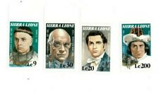 VINTAGE CLASSICS - Sierra Leone 1184-91 Entertainers - Set Of 4 - MNH