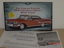 "Danbury Mint Brochure, 1960 Impala Sport Coupe, Limited Edition, 5 1/2""x19 1/2"""