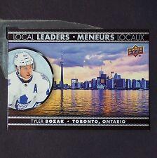 TYLER BOZAK  2016/17 Tim Hortons Local Leaders #LL5 = Toronto Maple Leafs