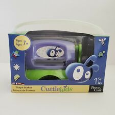 Provo Craft Cuttlekids Shape Maker Kit Kids Die Cut Machine 2 Starter Dies Mats
