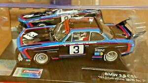 "Carrera Evolution 27626 BMW 3.5 CSL ""6h Silverstone 1976 No.3"" NEW"