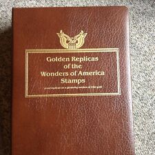 Golden Replicas of the WONDERS of AMERICAN STAMPS 39 FDI Covers from 5/27/2006