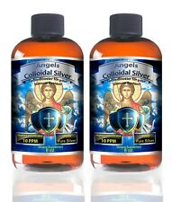 Colloidal Silver 16 oz Best Nano 10ppm Antibiotic Colds Flue pets