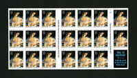 US Stamps # 3107 Sheet of 20 with amazing ERROR