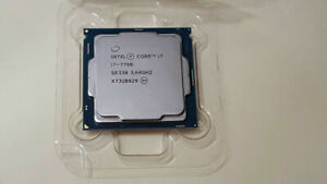 intel Core i7 7700 @ 3.6 GHz ( Up to 4.2 ) Socket LGA1151  Desktop CPU Processor