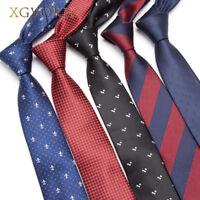 Men skinny Necktie Wedding Ties Business 6cm Fashion Clothing shirt Accessories