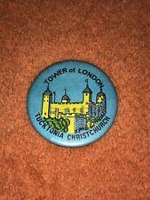 Tower Of London Tucktonia Pin Badge Button