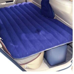 Car Mattress Inflatable Back Seat Cover Air Travel Bed Camping Pad Sex 12V Pump