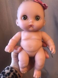 "Berenguer Lil' Cutesies 8"" Baby Girl Doll My Sweet Love Sucky Lip Collectible"