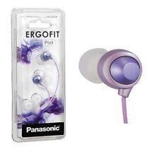 Panasonic RP-HJE180-V Inner Ear Earbuds Large Driver RPHJE180 Violet