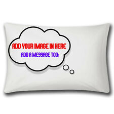 Personalised Pillow Case   Dreaming Of Personalized Pillowcase   Add Image Text