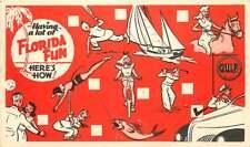 Advertising Postcard Gulf Oil Quick Correspondence Card - #4