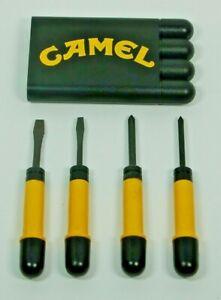 NOS Vintage Camel Cigarettes Screwdriver Set NEW