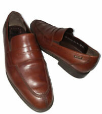 Mephisto Air-Jet Nilson Brown Leather Penny Loafers Slip-On Shoes Mens 11.5