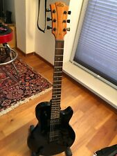 E - Gitarre LAG Imperator, Black, Neuzustand