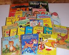 27 Old Children's Books Walt Disney Wizard of Oz Bugs Bunny Winnie Pooh Vintage