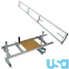 """New 14""""-36"""" Chainsaw Mill and Milling Rail Combo System Guide Bar Rail Mill Us"""