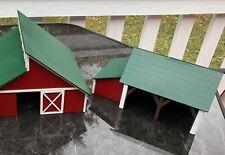 HO Scale Two Farm / Barn  Buildings Kit Sheds