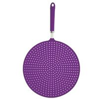 28cm Purple Colourworks Silicone Splatter Screen - Guard 1 x Kitchencraft Brand