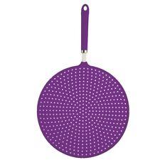 28cm Purple Colourworks Silicone Splatter Screen - Guard 1 x Kitchencraft Brand