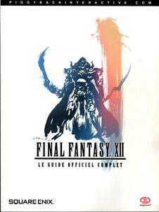LE GUIDE OFFICIEL COMPLET FINAL FANTASY XII 12 FR PS2 PlayStation 2