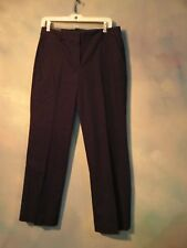 """NEW WITH TAGS J CREW  """"ADDISON"""" CITY FIT  BLACK  PANTS SIZE 8 SHORT"""