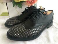 DSQUARED2 STUDDED WING TIP OXFORD SHOE SIZE EU 45/ US 11(shoe600