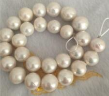 "HUGE 20""14-16mm natural south sea genuine white round pearl necklace 5217AAAA"