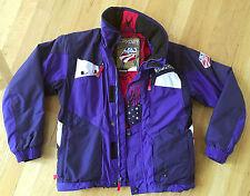 "Spyder Limited Edition ""USA Ski Team"" Ski Coat Jacket Boys Blue & White, sz 14"