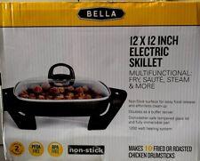 Bella (BLA14607) Electric Skillet - Black