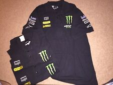 ALPINESTARS TECH3 MONSTER ENERGY TEAM ISSUE POLO SHIRT. XL