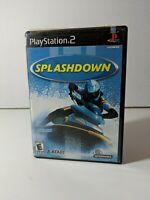 ATARI Splashdown (Sony PlayStation 2, 2001) PS2 CIB