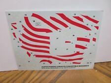 Vintage 1/25 Amt Mpc Johan Revell Monogram Original Decal Sheet # 139